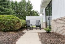 Cottonwood Suite exterior seating