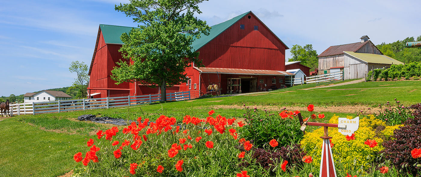 Holmes county ohio lodging culture lifestyle amish for Cabine millersburg ohio paese amish