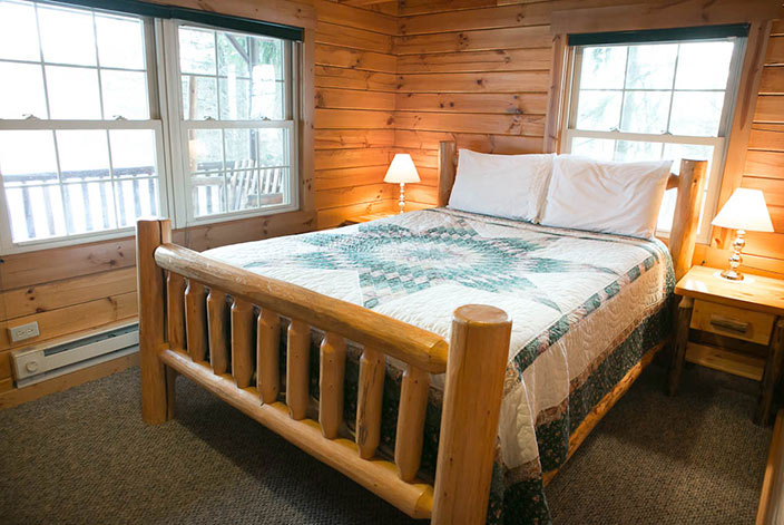 Amish Country Berlin, Ohio Cabin Rental - Bedroom