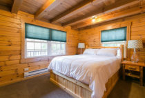 The Evergreen Log Cabin bed