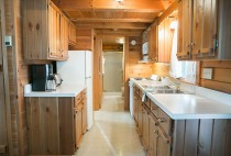 Cabin Rentals in Amish Country Ohio - Full Kitchen