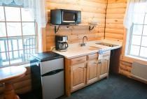 Berlin Ohio Cabins - Kitchen