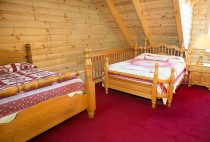Two Beds in a Cabin Rental in Berlin, Ohio