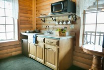 Kitchen in a Berlin, OH Cabin