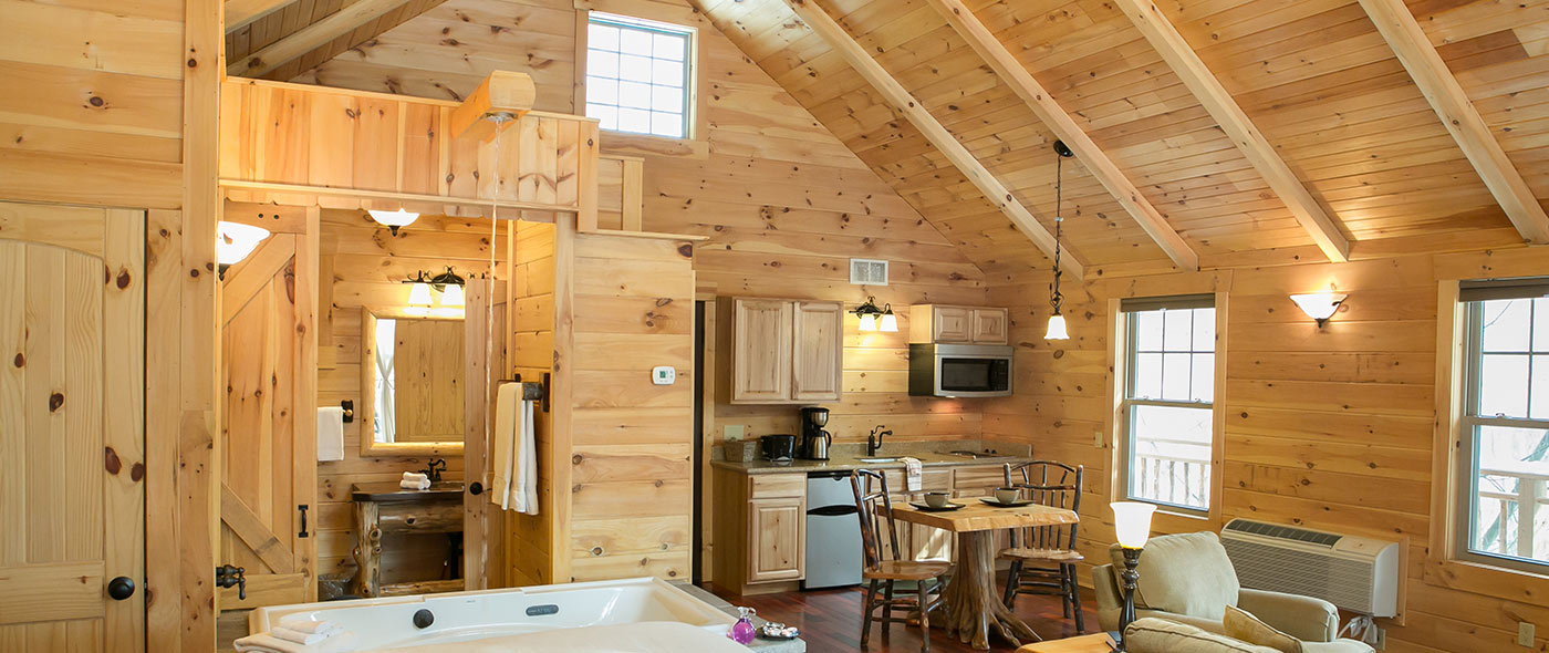 Pine Cove Lodging on 16x40 deluxe cabin floor plans