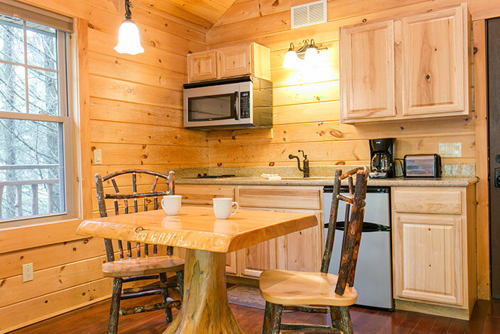 Wild Cherry Tree House kitchen