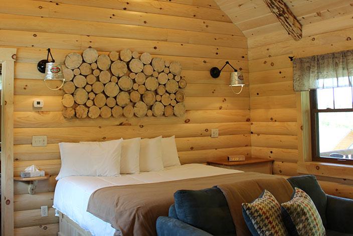 Berlin Ohio Cabin Rentals Romantic Cabin For Two