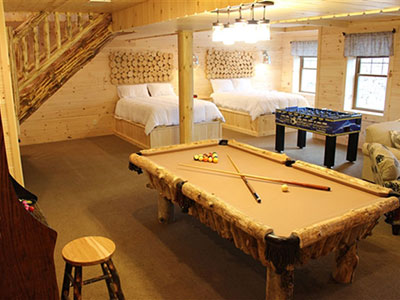 Fun Game Rooms for an Ohio Vacation with Families