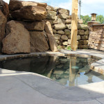 A photo of a in ground hot tub