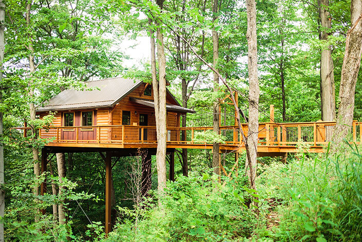 Treehouse #5 exterior