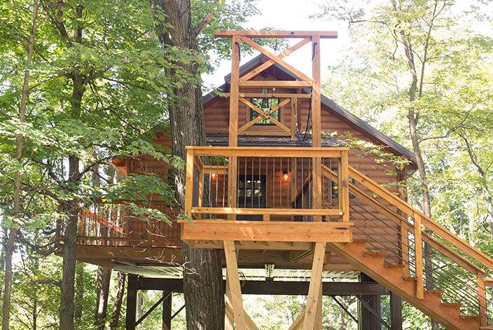 Treehouse #6 exterior