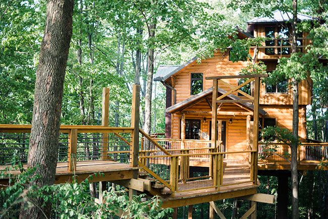 Awesome Amish Country Treehouse #2 $249   $599