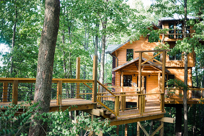 Treehouse #2 exterior