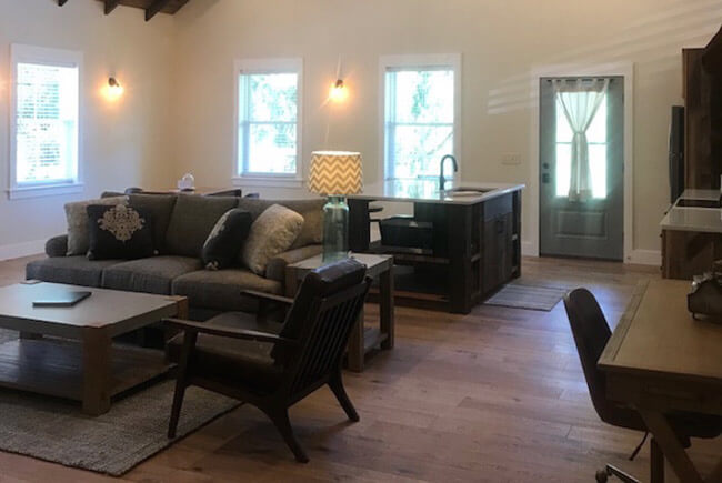 Barn Suite living room