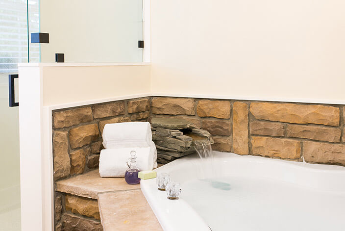 Silo Suite bath