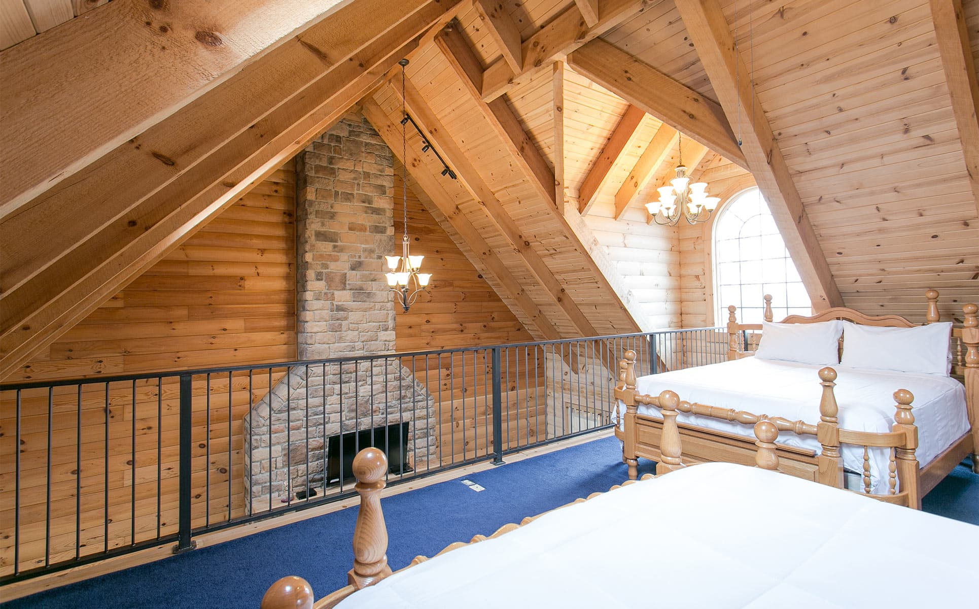 Beds in the Loft