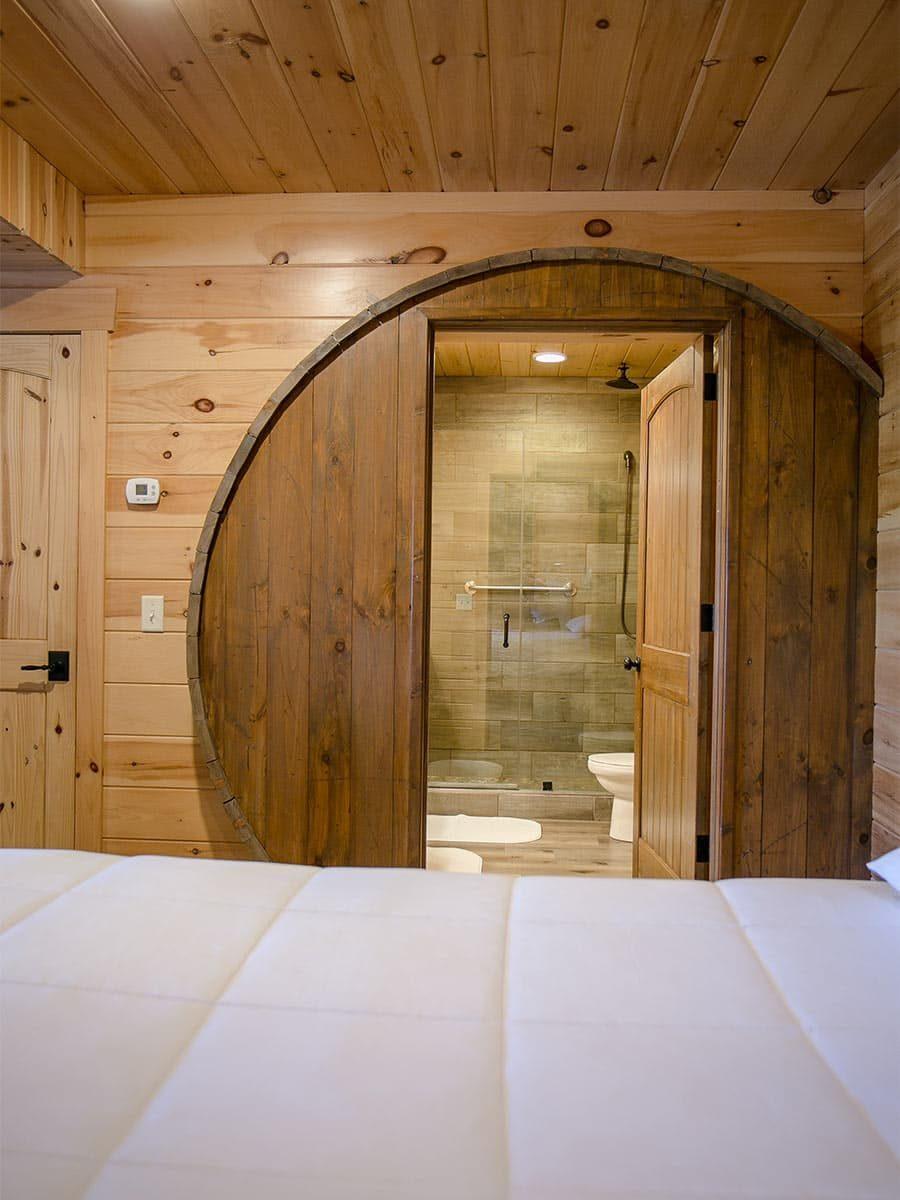 Wine Barrel door