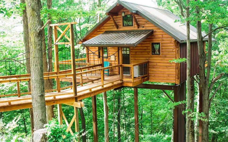 Exterior of Tree House #5