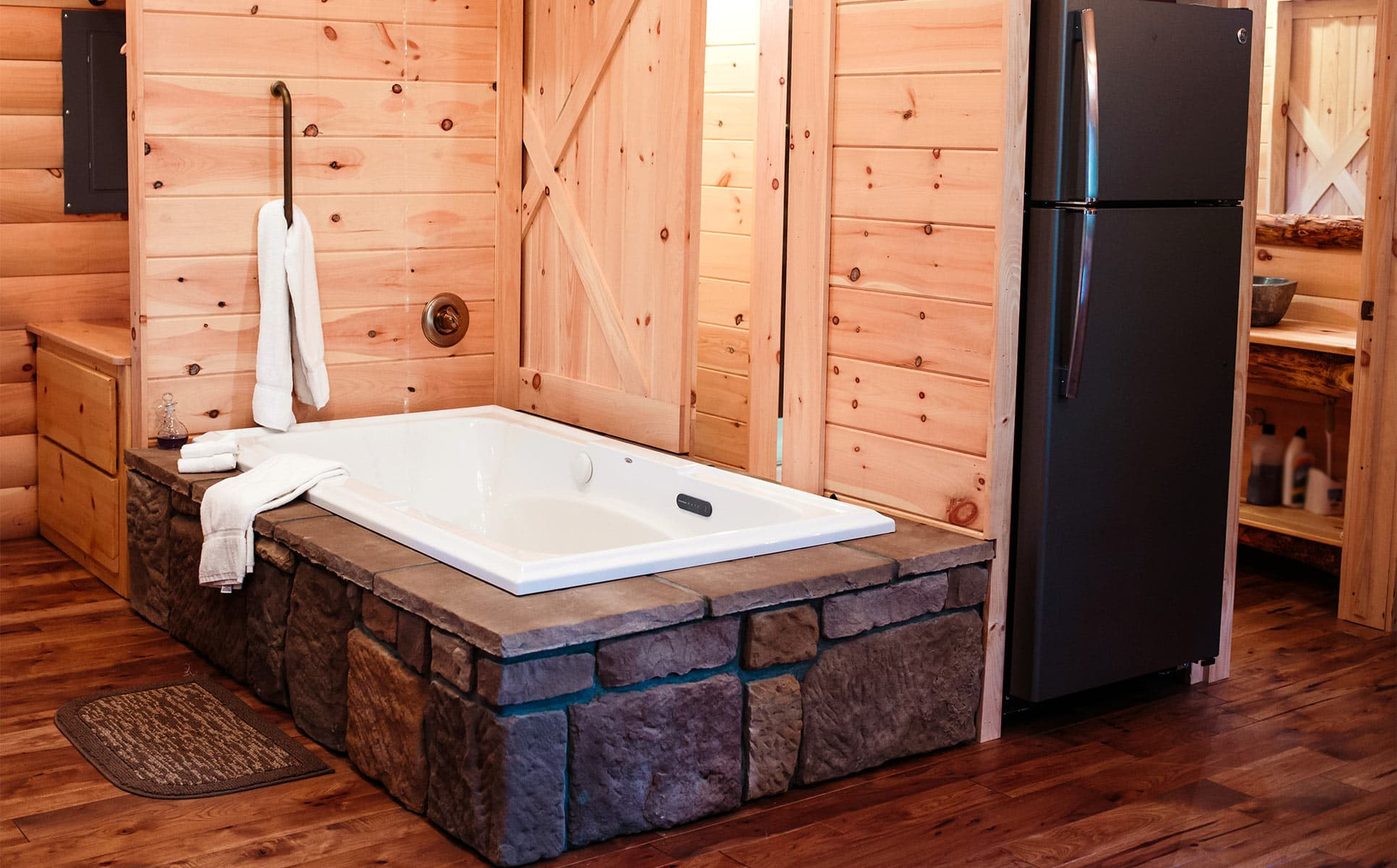 Stone Jetted Tub