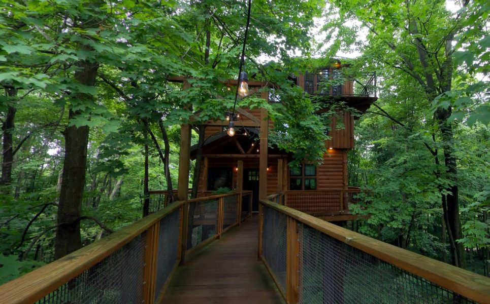 Exterior of Treehouse #1