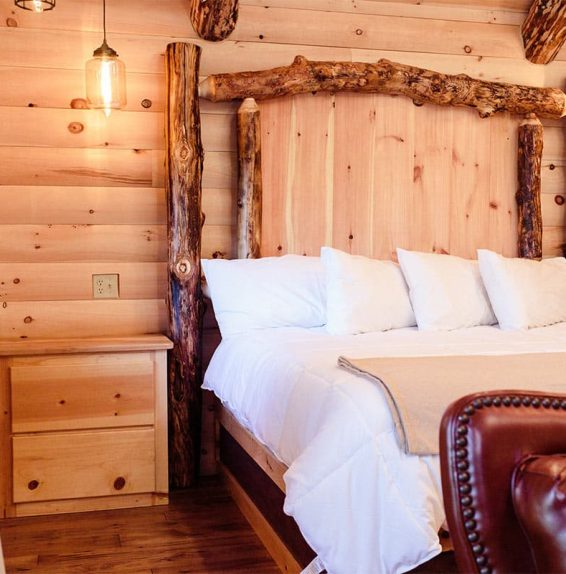 King Bed in Treehouse #6