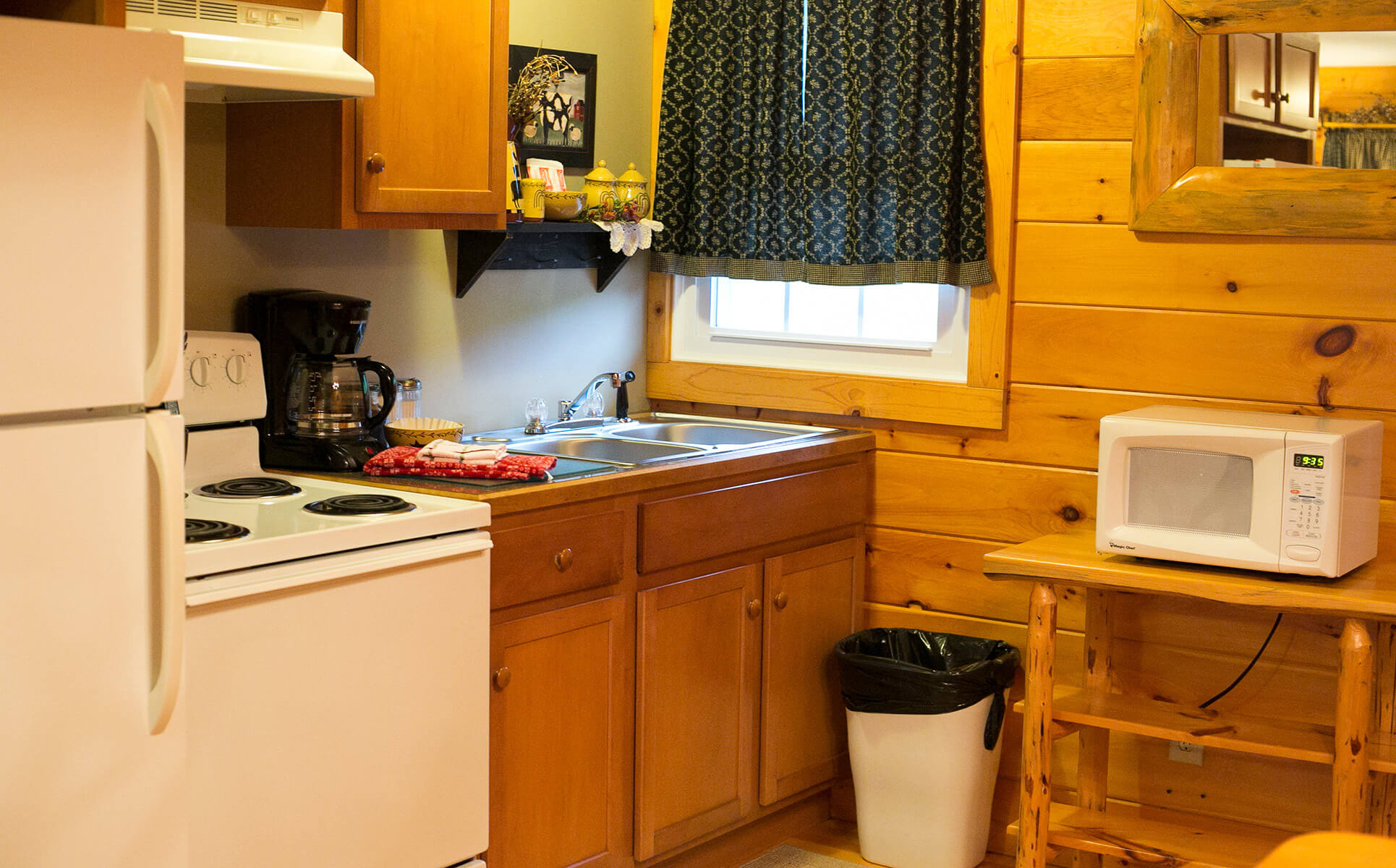 Hope Suite kitchen