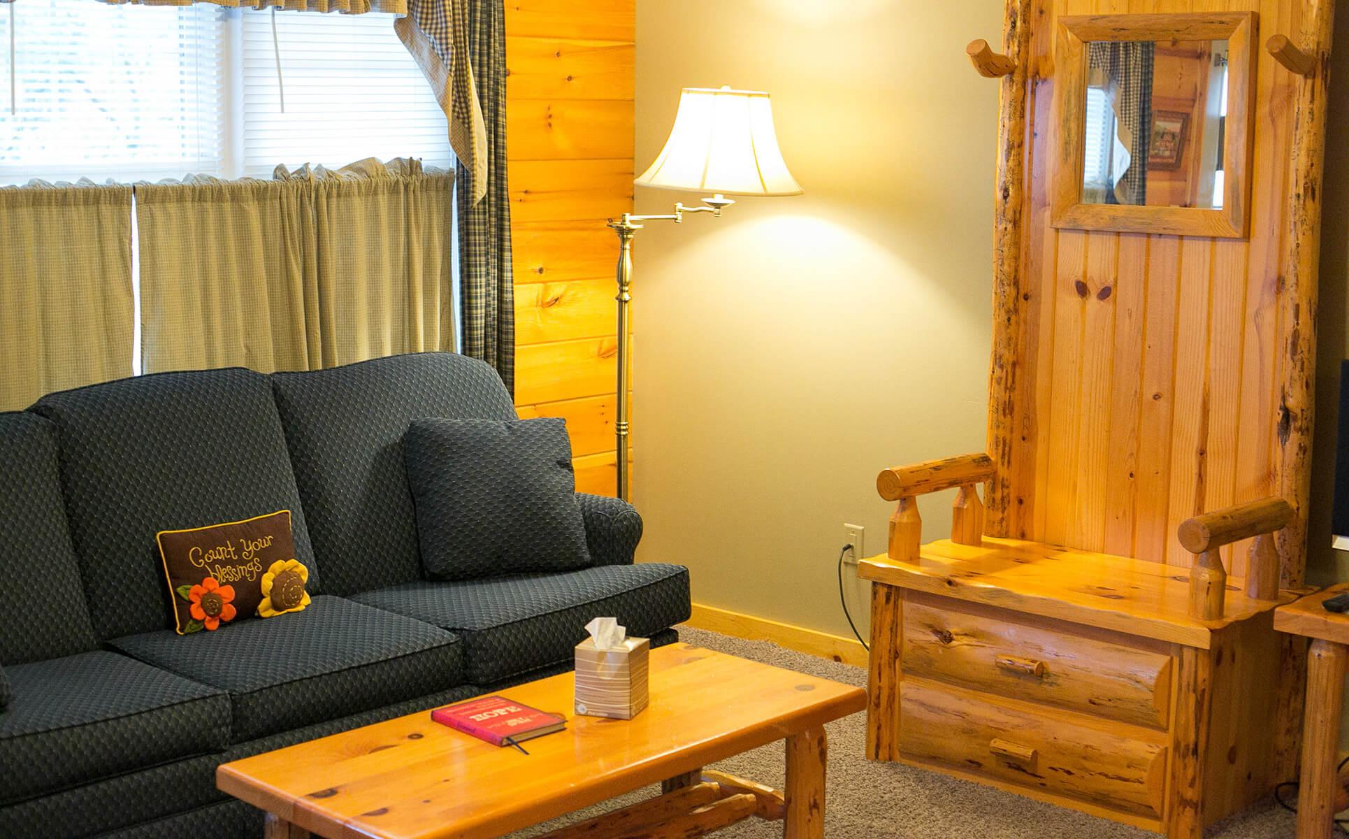 Hope Suite living room
