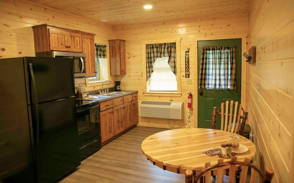 Pine Suite kitchen