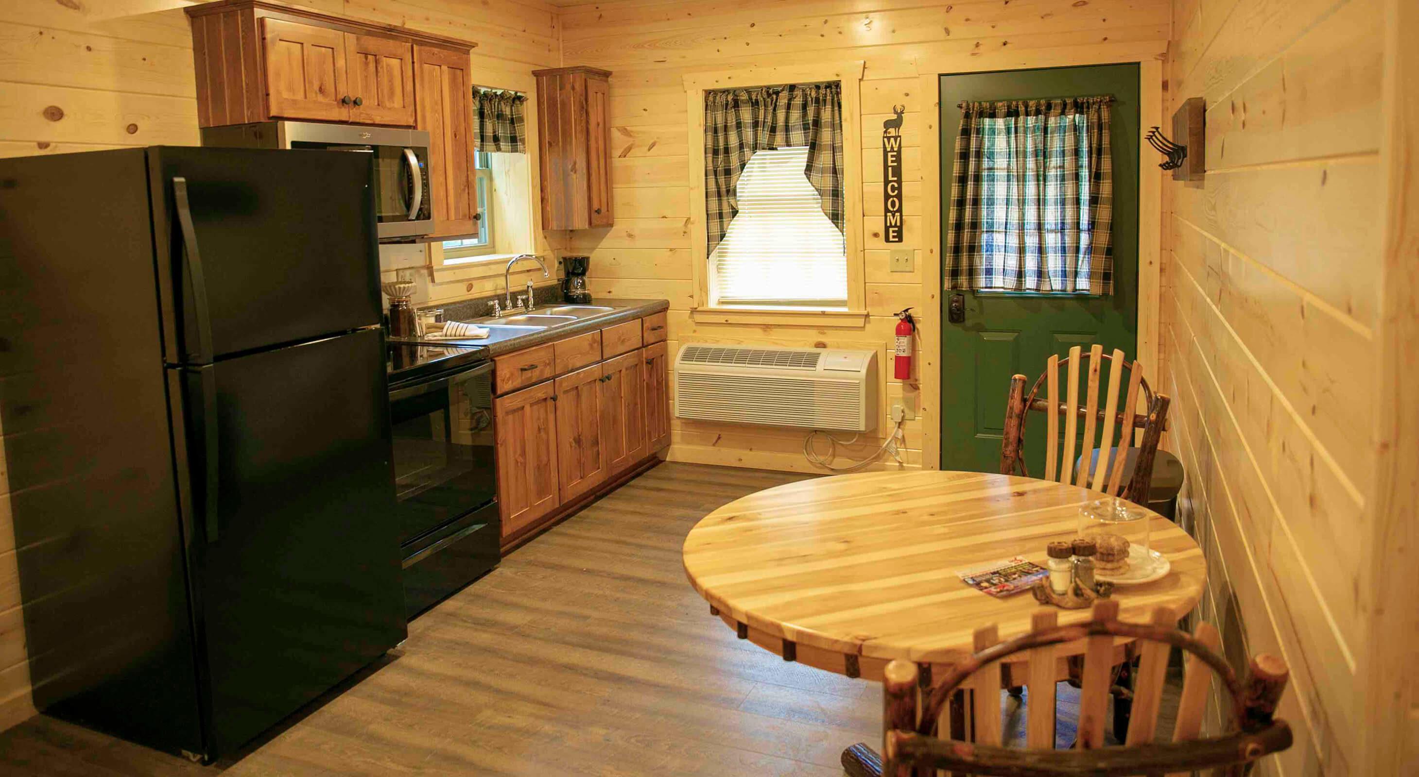 Pine Suite kitchen