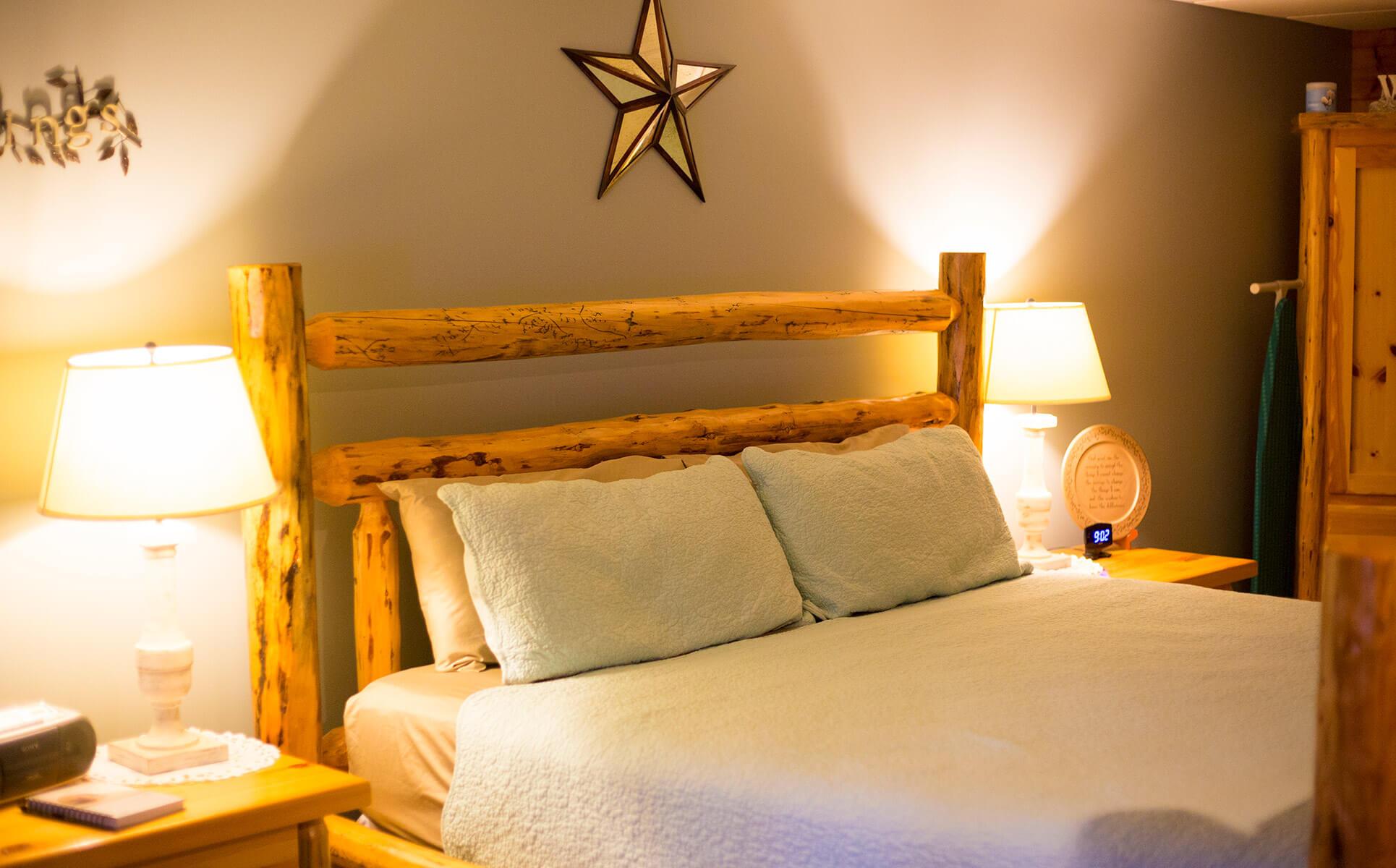 Serenity Suite bed