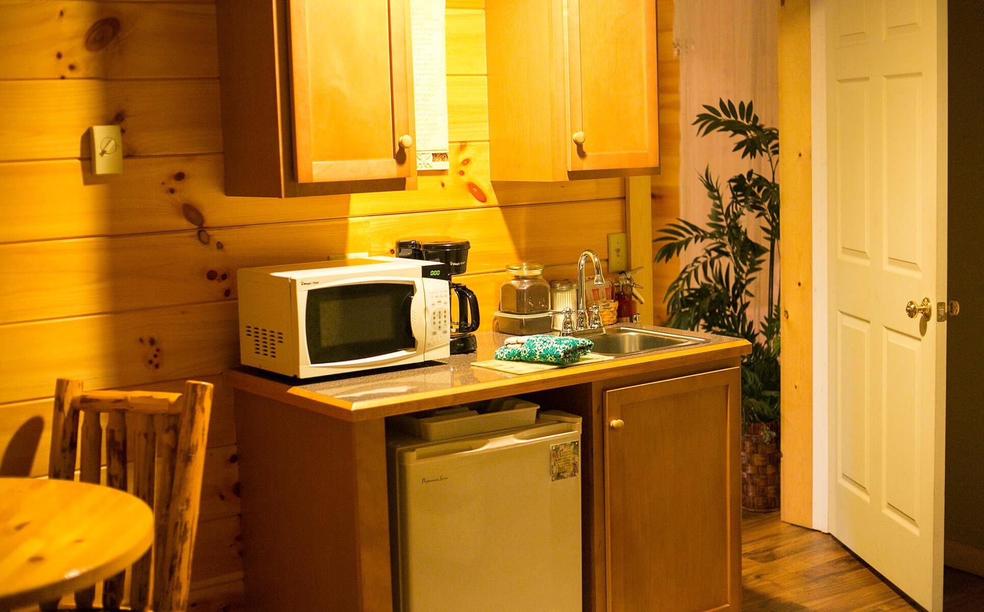 Serenity Suite kitchenette