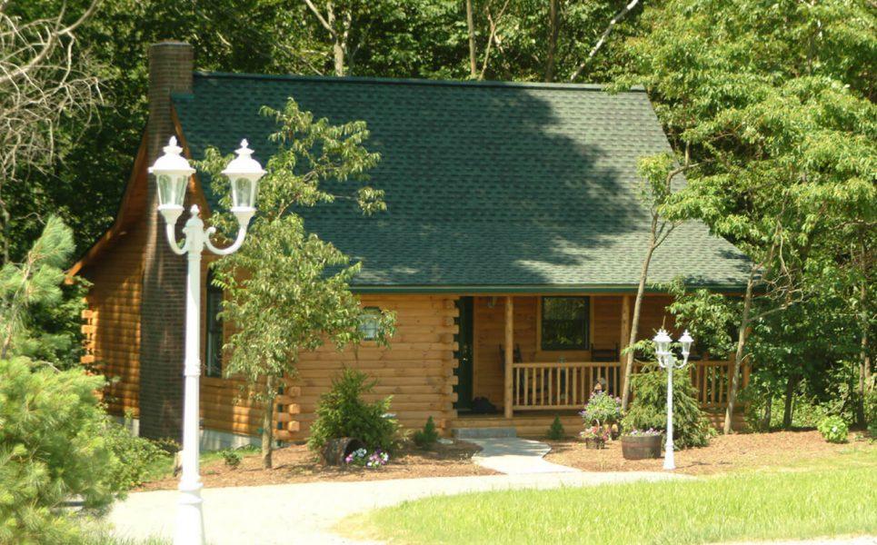 Wild Rose Cabin exterior