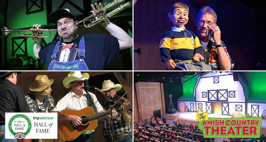 Amish Country Theatre Collage - A Top 10 Thing to Do in Amish Country