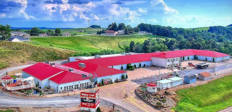 Walnut Creek Flea Market - Amish Country Attraction